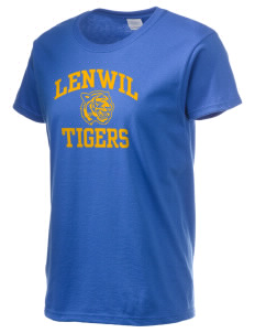 Lenwil Elementary School Tigers Women's 6.1 oz Ultra Cotton T-Shirt