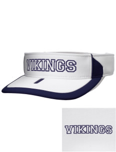 Martha Vinyard Elementary School Vikings Embroidered M2 Sideline Adjustable Visor