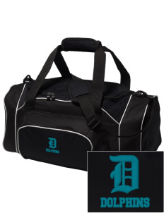 Robert L. Horbelt Dolphins Embroidered Holloway Duffel Bag