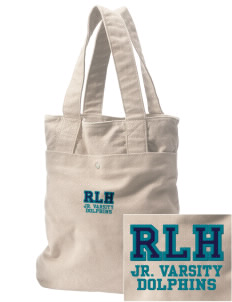 Robert L. Horbelt Dolphins Embroidered Alternative The Berkeley Tote