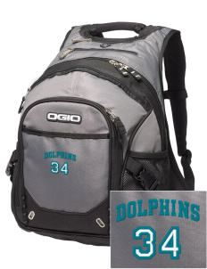 Robert L. Horbelt Dolphins Embroidered OGIO Fugitive Backpack