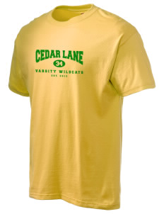 Cedar Lane Elementary School Wildcats Hanes Men's 6 oz Tagless T-shirt