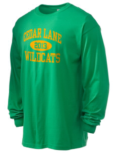 Cedar Lane Elementary School Wildcats 6.1 oz Ultra Cotton Long-Sleeve T-Shirt