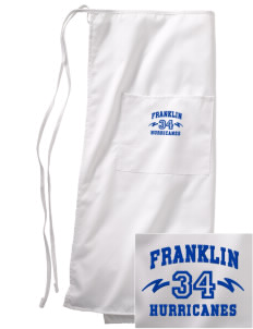 Franklin Middle School Hurricanes Embroidered Full Bistro Bib Apron