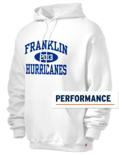 Franklin Middle School Hurricanes Russell Men's Dri-Power Hooded Sweatshirt