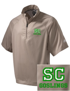 Sunapee Central Elementary School Goslings Embroidered adidas Men's ClimaProof Wind Shirt