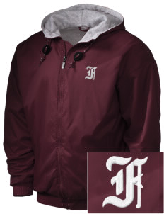Ventnor Educational Community Complex Falcons Embroidered Holloway Men's Hooded Jacket