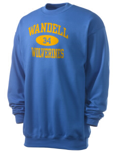 Wandell Elementary School Wallabees Men's 7.8 oz Lightweight Crewneck Sweatshirt
