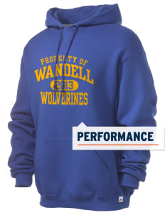 Wandell Elementary School Wallabees Russell Men's Dri-Power Hooded Sweatshirt