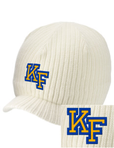 Knight Fundamental Academy Knight Hawks Embroidered Knit Beanie with Visor