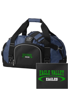 Eagle Valley Elementary School Eagles  Embroidered OGIO Big Dome Duffel Bag