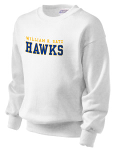 William R. Satz School Hawks Kid's Crewneck Sweatshirt