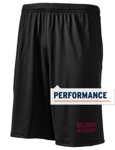 "Buffalo Seminary Red-Tailed Hawks Holloway Men's Performance Shorts, 9"" Inseam"