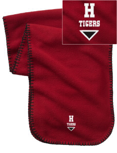 Hamilton Primary School Tigers Embroidered Fleece Scarf