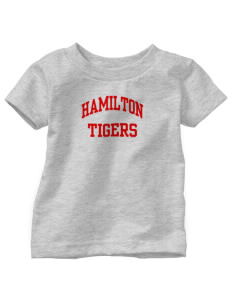 Hamilton Primary School Tigers  Toddler Jersey T-Shirt