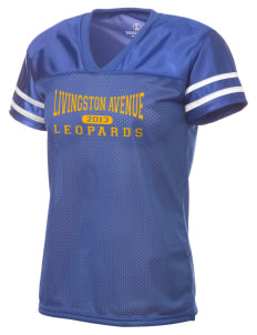 Livingston Avenue Elementary School Leopards Holloway Women's Fame Replica Jersey