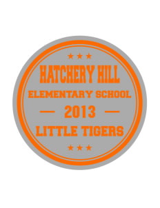 Hatchery Hill Elementary School Little Tigers Sticker