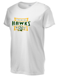 Thoreau High School Hawks Women's 6.1 oz Ultra Cotton T-Shirt