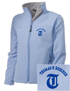 Thomas K Beecher Elementary School Tigers Embroidered Women's Soft Shell Jacket