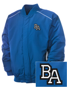 Bel Air Elementary School Tigers Embroidered Russell Men's Baseball Jacket