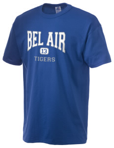 Bel Air Elementary School Tigers  Russell Men's NuBlend T-Shirt