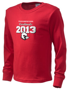 Staples Elementary School Cardinals  Kid's Long Sleeve T-Shirt