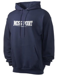 Moss Point High School Tigers Men's 7.8 oz Lightweight Hooded Sweatshirt