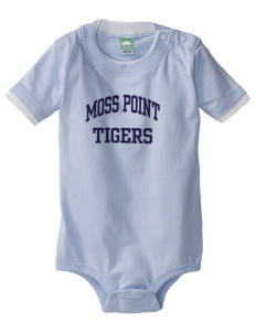 Moss Point High School Tigers Baby One-Piece with Shoulder Snaps