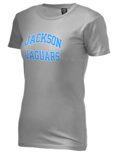 Jackson Elementary School Jaguars Alternative Women's Basic Crew T-Shirt