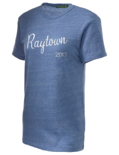 Raytown Middle School Blue Jays Embroidered Alternative Unisex Eco Heather T-Shirt