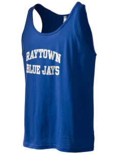 Raytown Middle School Blue Jays Men's Jersey Tank