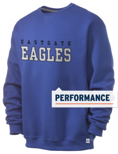 Eastgate Middle School Eagles  Russell Men's Dri-Power Crewneck Sweatshirt