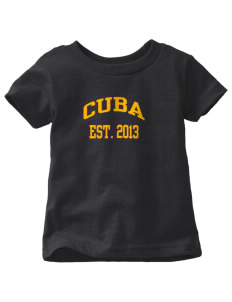Cuba Middle School Wildcats  Toddler Jersey T-Shirt
