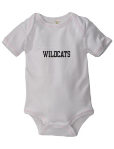Cuba Middle School Wildcats Baby Zig-Zag Creeper