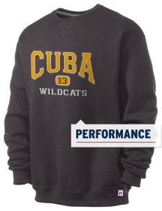 Cuba Middle School Wildcats  Russell Men's Dri-Power Crewneck Sweatshirt