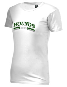 Eugene Field Elementary School Hounds Alternative Women's Basic Crew T-Shirt