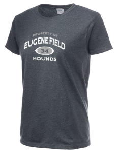 Eugene Field Elementary School Hounds Women's 6.1 oz Ultra Cotton T-Shirt