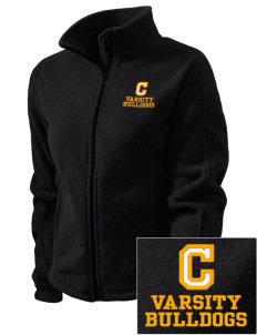 Central Elementary School Bulldogs Embroidered Women's Fleece Full-Zip Jacket