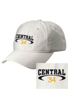 Central Elementary School Bulldogs  Embroidered New Era Adjustable Unstructured Cap