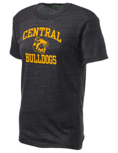 Central Elementary School Bulldogs Alternative Unisex Eco Heather T-Shirt