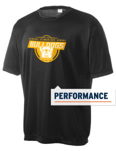 Central Elementary School Bulldogs Men's Competitor Performance T-Shirt