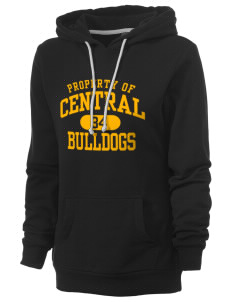 Central Elementary School Bulldogs Women's Core Fleece Hooded Sweatshirt