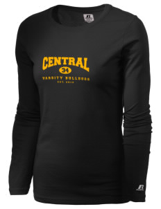 Central Elementary School Bulldogs  Russell Women's Long Sleeve Campus T-Shirt