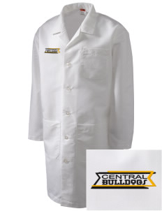 Central Elementary School Bulldogs Full-Length Lab Coat