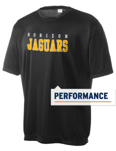 Horizon Middle School Jaguars Men's Competitor Performance T-Shirt