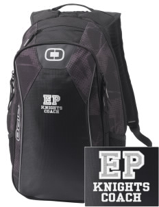 Eustis-Farnam Public School Knights Embroidered OGIO Marshall Backpack