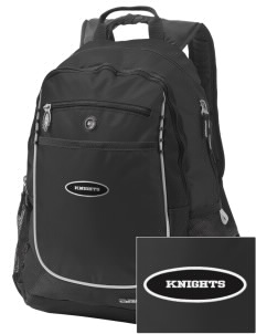Eustis-Farnam Public School Knights Embroidered OGIO Carbon Backpack