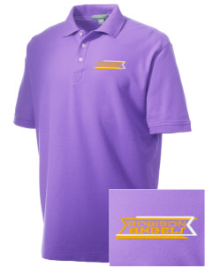 Robison Middle School Angels Embroidered Men's Performance Plus Pique Polo