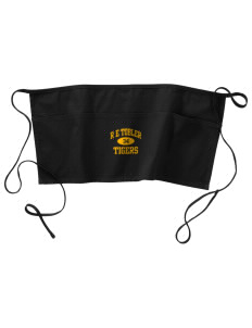 R E Tobler Elementary School Tigers Waist Apron with Pockets