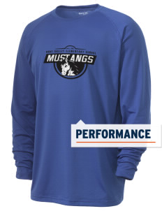 Ruby Valley Elementary School Mustangs Men's Ultimate Performance Long Sleeve T-Shirt
